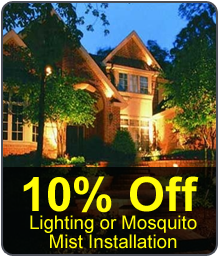 House, Mosquito Mist System in Cypress, TX